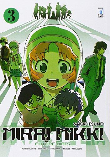 Mirai Nikki. Future diary: 3