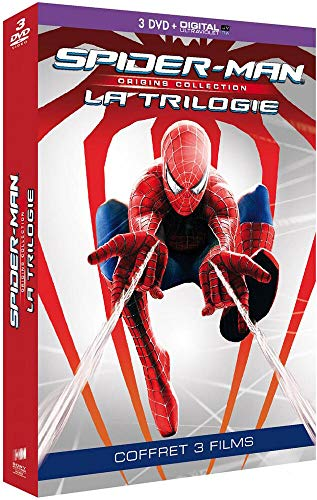 Spider-Man Origins Trilogie 3 Films [DVD + Copie digitale]