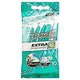 Wilkinson Sword Extra 2 Sensitive - Pack de Cuchillas de Afeitar Desechables de 2 Hojas para Hombre,...