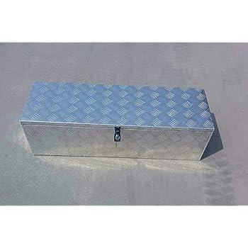Caja de herramientas de aluminio grande de 97 x 31 x 28 cm: Amazon.es: Bricolaje y herramientas