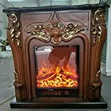 Chimeneas Eléctricas Caja de bomberos eléctricos Insertar quemador decorativo chimenea conjunto de madera Manta de habitación calentadora de chimenea DIRIGIÓ Deocration de llama óptica estufa