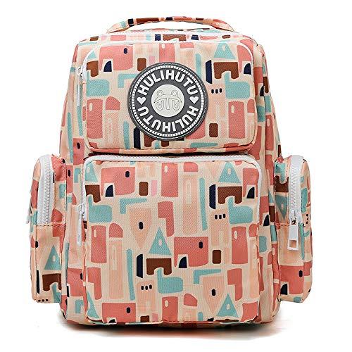 CMZ Mommy Bag Multifunktionale Doppelschulter-Mutter- und Babytasche mit großer Kapazität Modische und leichte wasserdichte Muttertasche zum Ausgehen