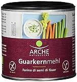Arche Guarkernmehl 125g -Jetzt Bio- Bio Backzutat, 2er Pack (2 x 125 g) -