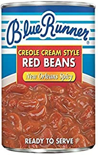 Blue Runner Creole Cream Style Red Beans - New Orleans Spicy (6-pack) by Blue Runner