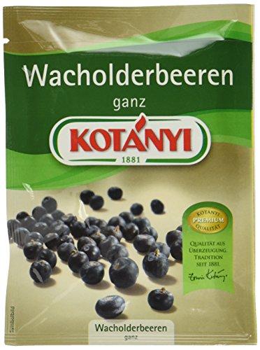 Kotanyi Wacholderbeeren ganz, 5er Pack (5 x 21 g)
