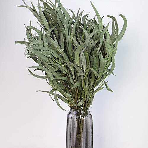 Eucalyptus, Gierst, Kerstbloemen, Natuurlijke echte bloemen, Gedroogde takken, Retro literaire stijl, Decoratieve stoffering, Gedroogde bloemen, Vijg-eucalyptusbladeren