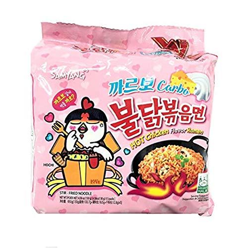 Samyang Bulldark Spicy Chicken Roasted Noodles (Carbo 5 Pk)