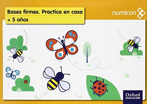 Numicon En Casa 5 años Pack (Cuaderno de ejercicios + libro de profesor) - 9788467390643