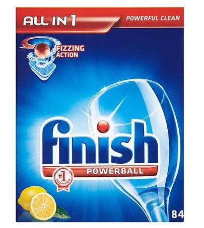 Finish Powerball todo en...