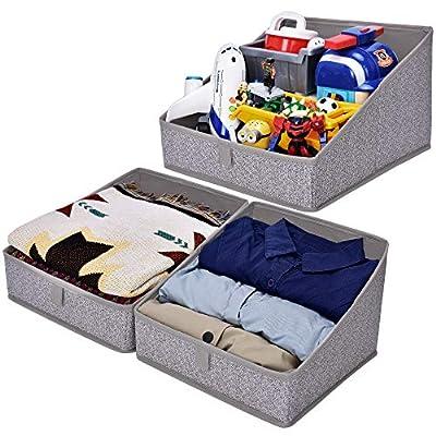 GRANNY SAYS Open Storage Bins, Closet Shelf Org...
