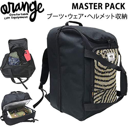 オレンジ スノーボード ブーツバッグ ORAN'GE MASTER PACK 40128 HAMON 2029 マスターパック オレンジ ブーツケース【C1】