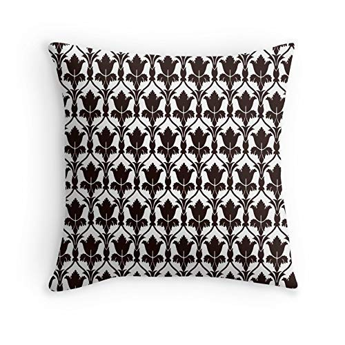 HOJJP Funda de Almohada Sherlock Wallpaper para Sofá Sofá Sala de Estar Cama Decorativa (Cuadrado 16x16)