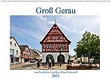 Groß Gerau vom Taxifahrer Petrus Bodenstaff (Wandkalender 2021 DIN A2 quer): Ein Kalender von Groß Gerau , eine Stadt nicht weit vom Frankfurter Flughafen (Monatskalender, 14 Seiten )