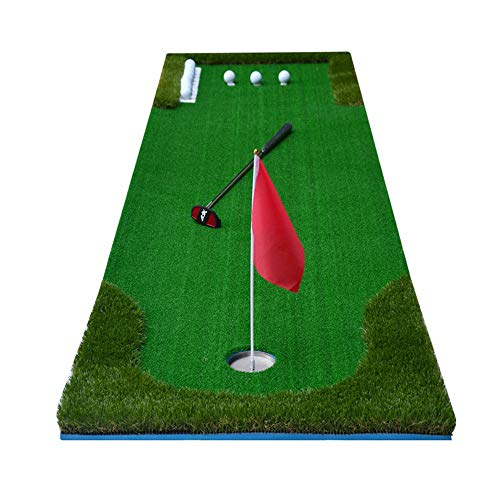 Review Of JHHXW Golf Practice Mat Golf Putting Mats Indoor Outdoor Mini Practice Blanket Set, Green ...