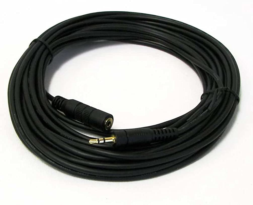 NSI 25' Remote Extension Cable for LANC, DVX and Control-L Cameras and Camcorders from Canon, Sony, JVC, Panasonic