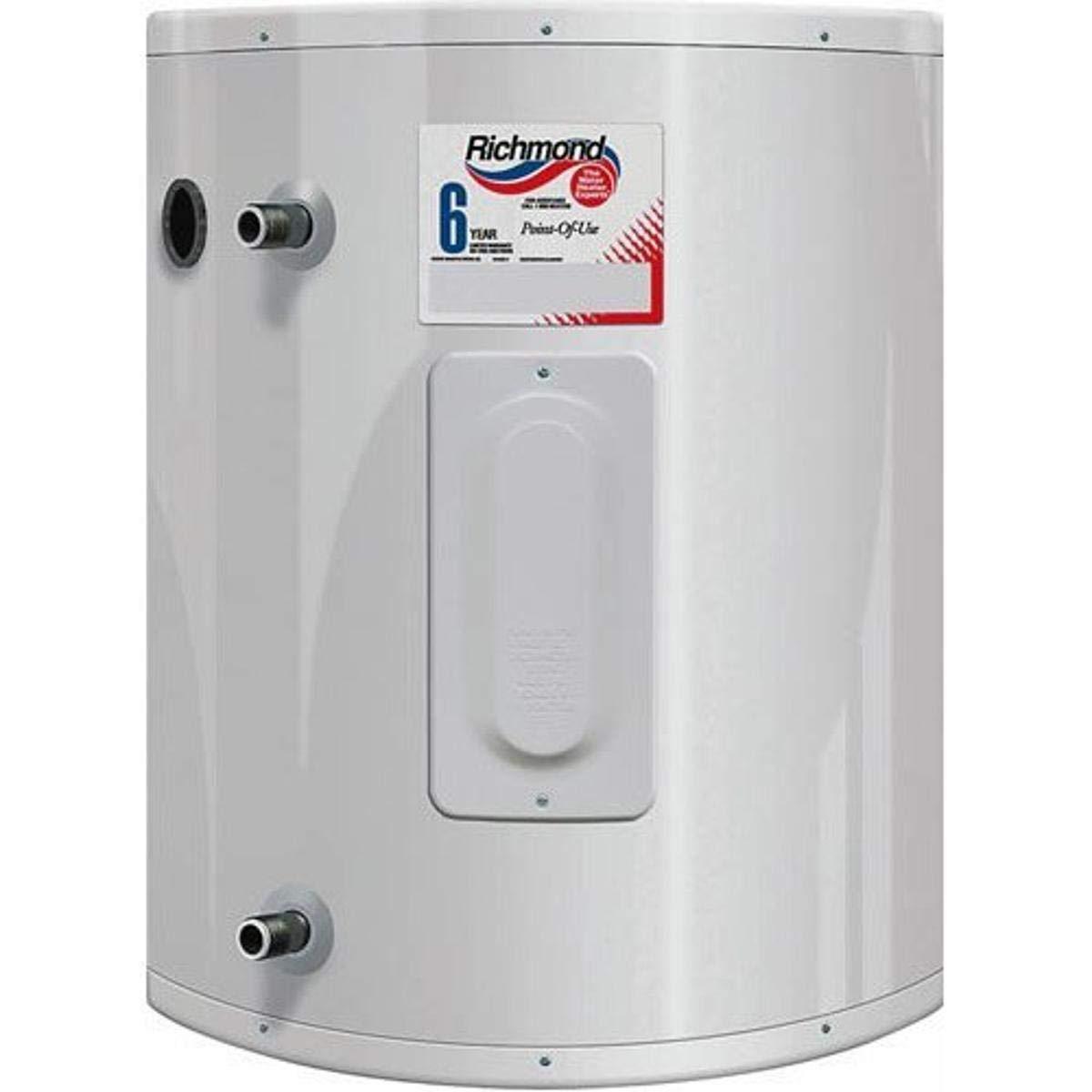 Rheem Richmond 6ep20 1 2000 W 120 Vac Tank Richmond Electric Water Heater 20 Gal 20 Gallon Water Heaters Amazon Com