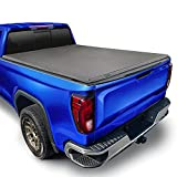 Tyger Auto T3 Soft Tri-Fold Truck Bed Tonneau Cover Compatible with 2019-2022 Chevy Silverado/GMC Sierra 1500 New Body Style | Fleetside 6'6' Bed | TG-BC3C1054, Black