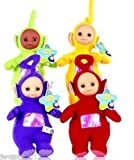 Lot 4 pcs Teletubbies Laa-Laa Po Tinky Winky Dipsy Soft Plush Toy Doll 11 inch /item# G4W8B-48Q57147