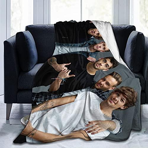 Up All Night Midnight memories 1-D One Direc-tion R&B álbumes rock me take me home Harry Styles Felpa invierno cama individual manta ultra suave y mullida microfibra cálida 152 x 127 cm