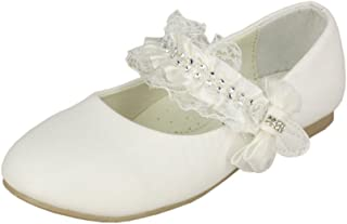 cde49228e3c08 Boutique-Magique Chaussures de cérémonie Enfant Blanche Mariage baptême  Communion