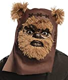 Rubie's Star Wars Classic Adult Ewok Furry Mask