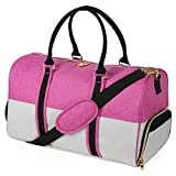 EleSac Canvas Style Duffel Bag for Men and Women with Shoe Compartment