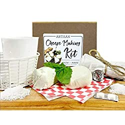 food & cool tech gadgets - DIY cheese kit