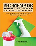 DIY Homemade Disinfectant Spray & Antibacterial Wipes: Concise Tips for Anyone to Make Cleaning Wipes & Disinfectant Spray for Viruses