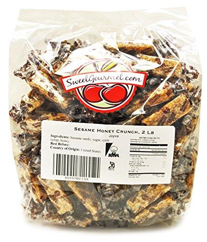 Sweetgourmet Joyva Sesame Honey Crunch Candy, 2 Lb