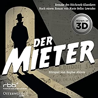 Der Mieter                   By:                                                                                                                                 Marie Belloc Lowndes,                                                                                        Regine Ahrem                               Narrated by:                                                                                                                                 Gerd Wameling,                                                                                        Regina Lemnitz,                                                                                        Max von Pufendorf,                   and others                 Length: 1 hr and 4 mins     Not rated yet     Overall 0.0