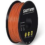 GIANTARM Filamento PLA 1.75 mm, Filamento para impresora 3D, 1 kg (color marrón)