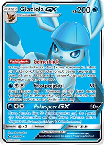 Glaziola GX 141/156 Full Art Pokémon Sonne & Mond Ultra Prisma Sammelkarte - Deutsch - Cardicuno
