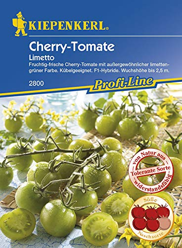 Tomate Cherrytomate Limetto grün tolerant
