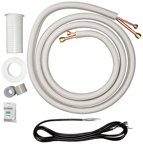 Senville 16 Ft. Insulated Copper Line Set for Mini Split Air Conditioner, 3/8