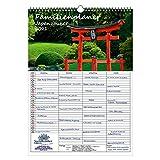 Planificador familiar – Calendario DIN A3 para 2021 Ciudad y Tierra Japón – Set de regalo Contenido: 1 x calendario, 1 x Tarjeta de Navidad y 1 x Tarjeta de felicitación (total 3 piezas)