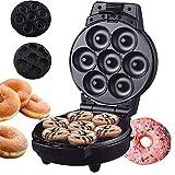GIRISR Mini Donut MakerElectrodomésticos máquina para moldear pequeñas donas usando BatterMixBake glaseado de Chocolate y más sabores