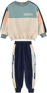 N/X Children's Wear Girls' Clothing for Spring Autumn Sports Suit Casual Dress Daily Wearing Girl's Dresses Two-Piece Suits