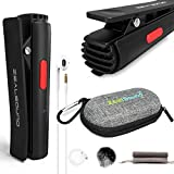 ZealSound Lapel Microphone,Bluetooth Microphone,Lavalier Wireless Mic for iPhone Android iPad, Video Vlogger Blogger Content Creator Interviewer Lecture - Noise Reduction/Auto Transcription/Auto Sync