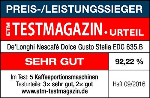 De'Longhi Dolce Gusto Stelia EDG635.B – Cafetera de cápsulas,