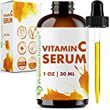 Vitamin C Serum Hyaluronic Acid - Anti Aging 20% Vit C Face Cream with All Natural Ingredients Facial Skin Serum Dark Spot Acne Remover Wrinkle & Sun Spot Hydrating Pore Minimizer Packaging May Vary
