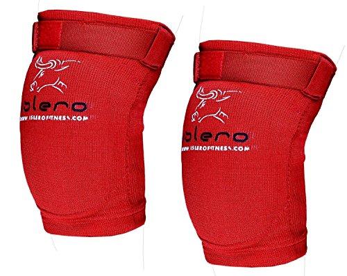 Islero Fitness Ellenbogenschoner, Guard Gummizug-Unterstützung für MMA, Kampfsport, Boxen, UFC, Small/Medium
