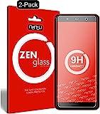 ZenGlass [2 Stück Flexible Glas-Folie kompatibel mit Wiko Lenny 5 Panzerfolie I Bildschirm-Schutzfolie 9H I (Kleiner Als Das Gewölbte Bildschirm)