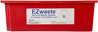 EZwaste Secondary Container Spill Basin, Safety Tray for 1L-10L 10 to 2.5 Gallon) Carboys, Bottles, and DOT Waste Containers