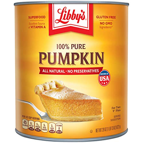Libbys 100% Pure Pumpkin, 29-Ounce Cans (Pack of...