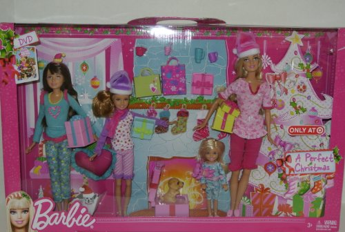 Barbie Colección de muñecas de Navidad perfecta 2012
