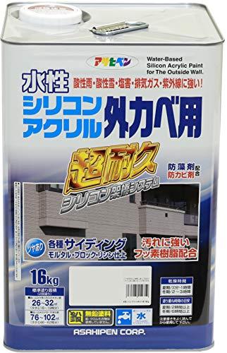 水性シリコンアクリル外かべ用 16kg