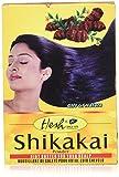 Hesh, polvere di Shikakai cura emolliente in caso di forfora, di capelli sottili e radi