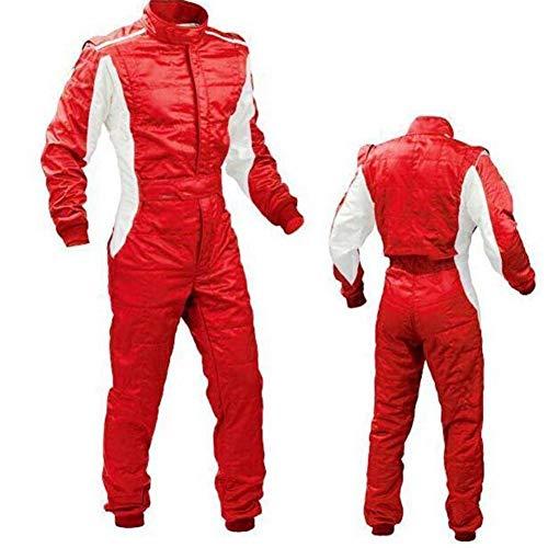 Leiyini Kart Racing Suit - Traje de Carreras con 2 Capas, cómodo y práctico, Ropa de protección