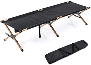 fang zhou Comfortable Camping Folding Bed, High-Elastic Fabric Perfectly Fits The Body for a Rest, Simple Easy Carrying, Suitable Outdoor Party Breaks