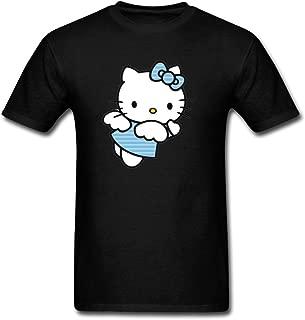 Men's Hello Kitty White Short Sleeve T-Shirt